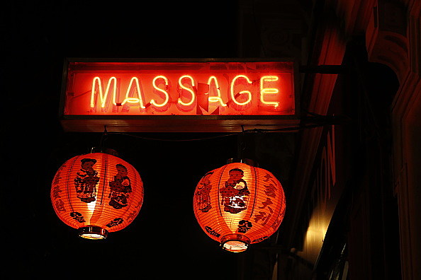 Massage sign